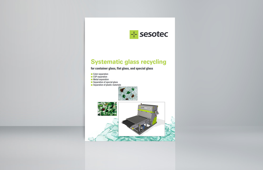 glas recycling brochure